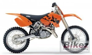 2003 KTM 125 SX specifications and pictures