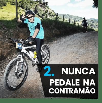 5 Dicas iniciantes mountain bike - nunca pedale na contramão