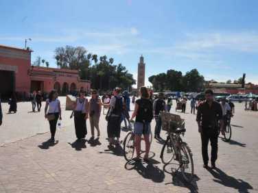 Marrakech City Bike at Djemaa el Fna