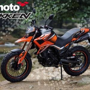 Lexmoto Tekken 125 Orange