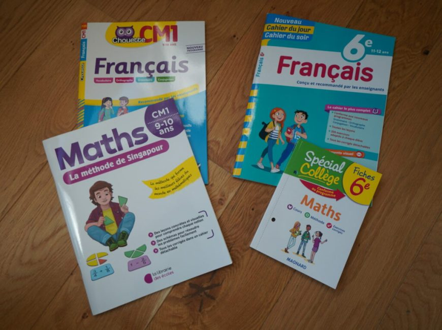 cahiers scolaire