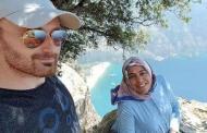 زوج يلتقط سليفي مع زوجته ويرميها من قمة الجبل وهي حامل(صور)