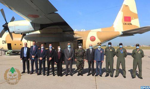 الجيش اللبناني يعبر عن شكره وامتنانه للملك محمد السادس على الهبة الملكية للبنان