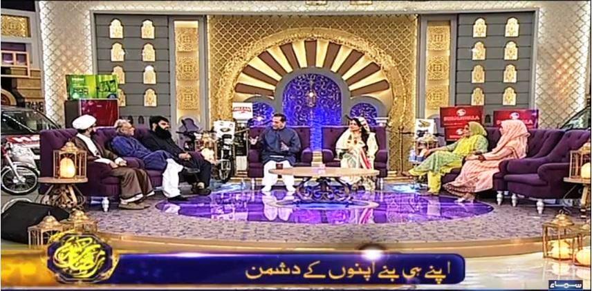Subah Sehri Samaa Kay Saath – 12 June 2016