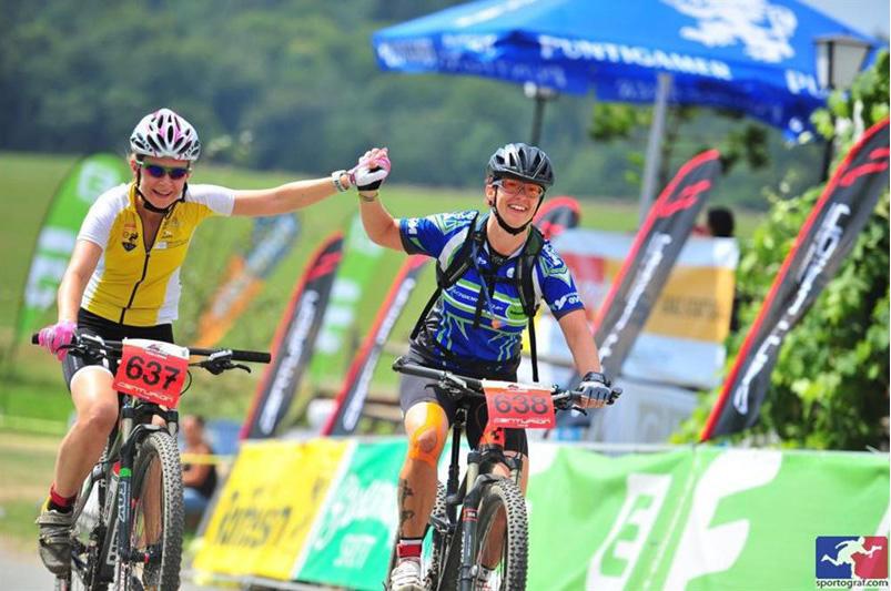Anita Wolf-Eberl Radrennen für Operation Smile