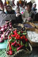 foto de un mercado