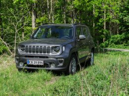 Jeep Renegade forfra