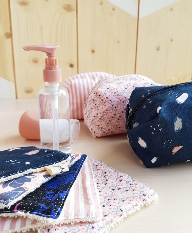 lingette trousse accessoire toilette createur lyon bilboquet rose bebe fille