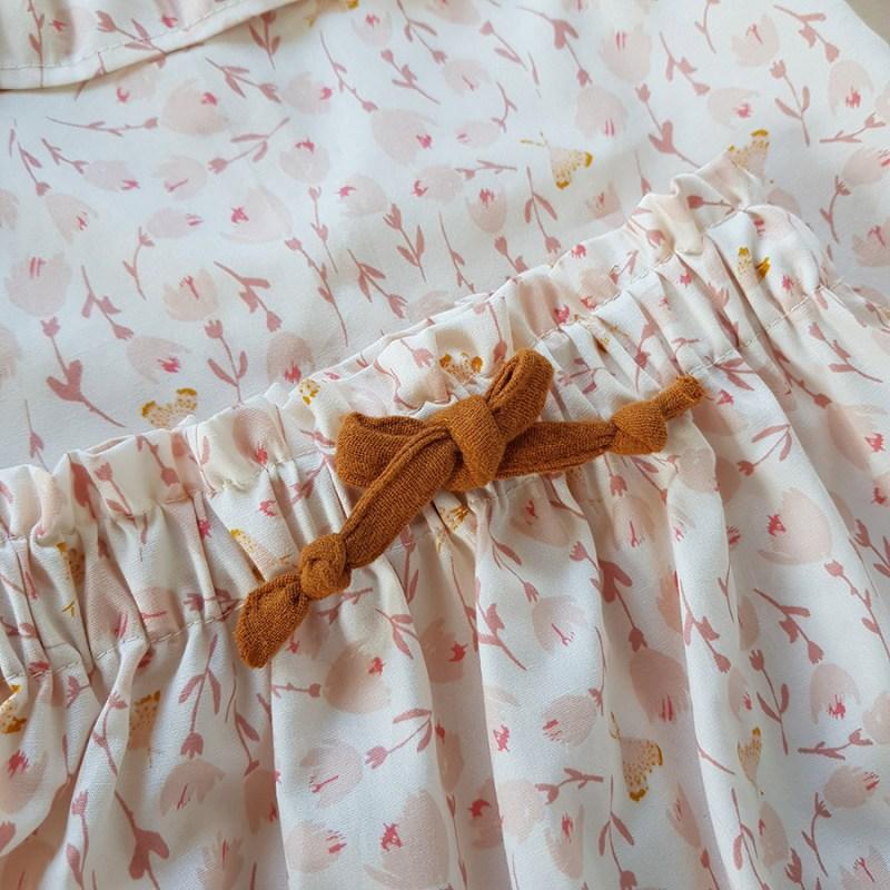 vetement bebe enfant garcon fille made in france createur lyon bilboquet kids oekotex petite marque fabrication francaise petites tricolores naissance liste cadeau bloomer short rose fleur
