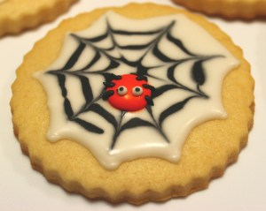 No So Scary Spider Cookies