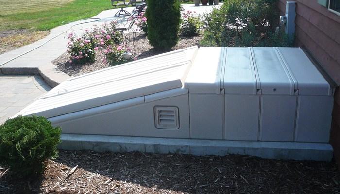 Bilko Doors Ultra Series Polyethylene Construction | Bilco Precast Basement Stairs | Egress Window | Basement Entry | Precast Concrete Steps | Bilco Doors | Wine Cellar