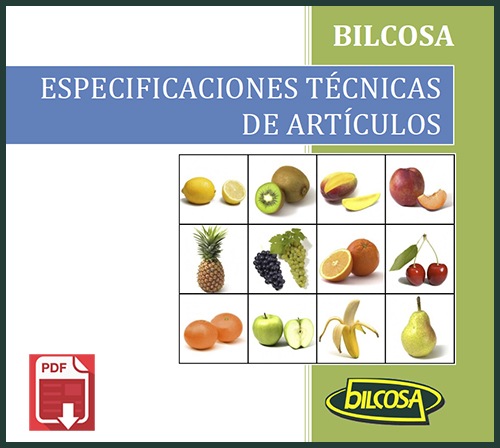 Productos Bilcosa - Especificaciones Técnicas