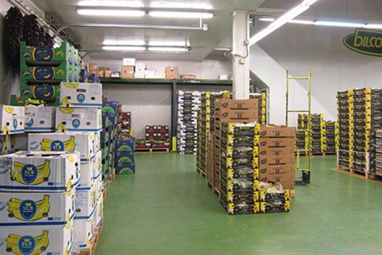 Bilcosa zona de venta de plátanos bilcosa mercabilbao