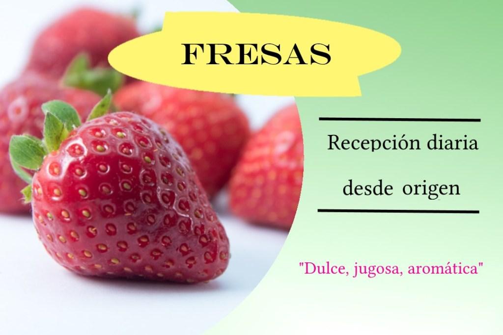 Fresas desde origen bilcosa mercabilbao