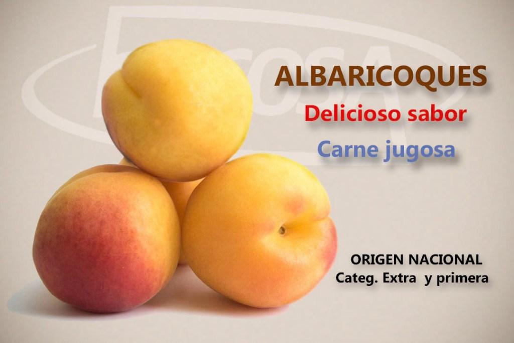 Promoción albaricoques fruta de hueso Bilcosa Mercabilbao