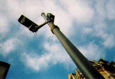 Bulletproof CCTV camera in Bath