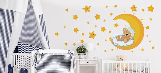 Stickers murali soggiorno asilo nido camera da letto per bambini. Adesivi Murali Per Bambini Decorazioni Per Camerette