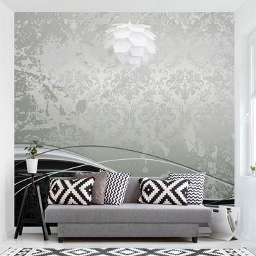 carta da parati rivestimento murale pellicola adesiva moderna classica non tessuta decorazioni per la casa 53*1000 cm. Carta Da Parati Damascata Parati In Stile Barocco