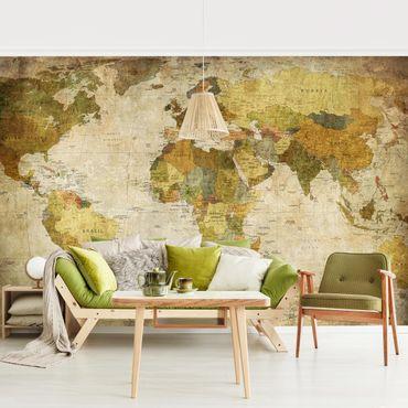 Stile moderno, vintage, industriale, scandinavo: Carta Da Parati Per Soggiorno Idee Per Il Salotto
