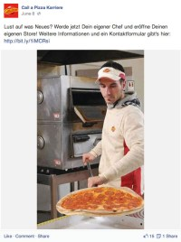 Call a Pizza Karriere