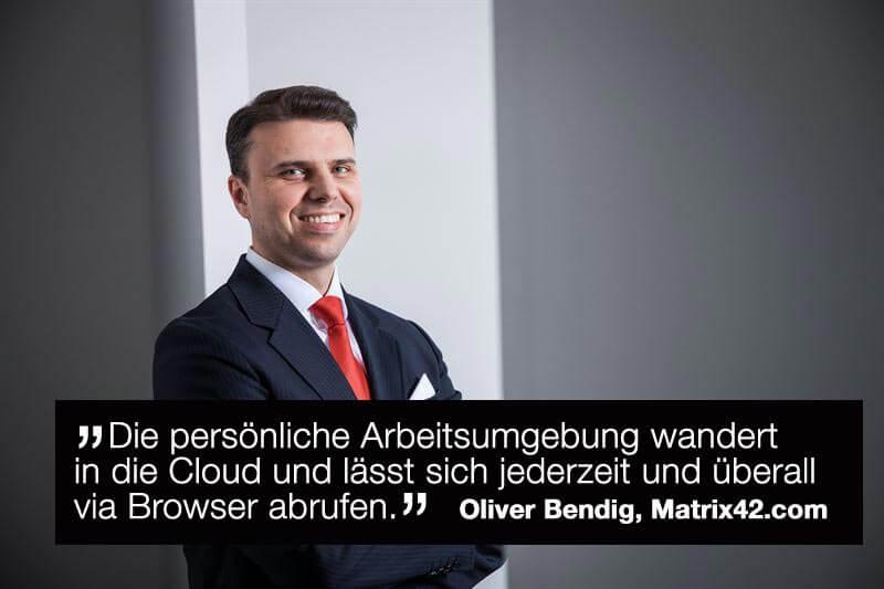 Oliver Bendig, CEO von Matrix42, über die acht wichtigsten Entwicklungen, die 2017 für Unternehmen relevant werden.