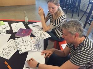 Visual Thinking: Ringelfrauen
