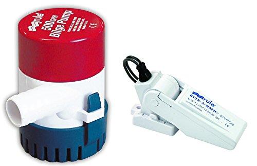 Rule Industries 24DA-35A 360 Bilge Pump with Switch