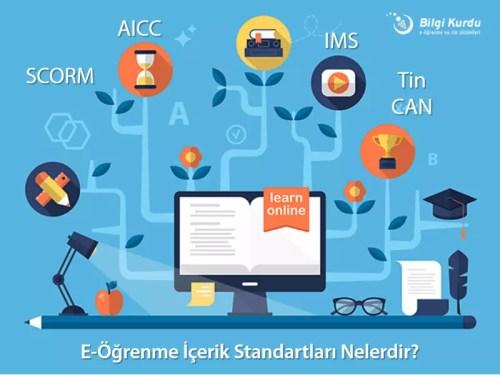 , E-Öğrenme İçerik Standartları Nelerdir?