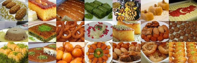 Türk Tatlı Çeşitlerine Örnek Tarifler