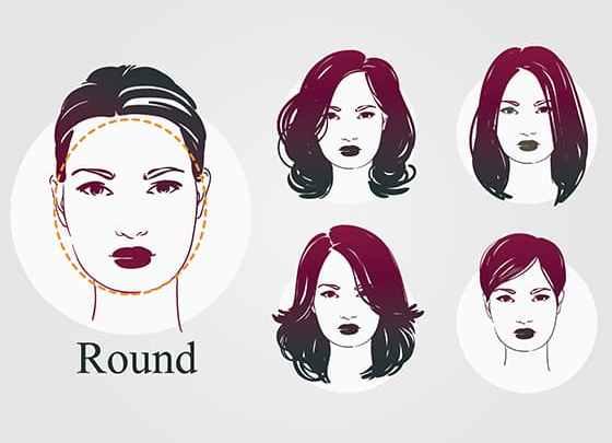 Yuvarlak Yüzlere Saç Modelleri