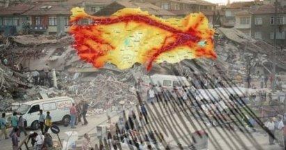 2020 Yılına Kadar Türkiye'de Meydana Gelen Büyük Depremler