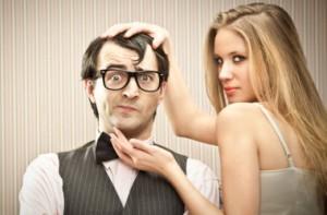 a boyfriend courts his girlfriend