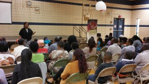 Lorna Vaughn, MA provides education on ACA facts