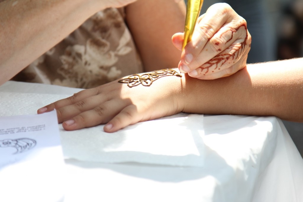 Visit Our Henna Art Booth at the Festival of Nations This Weekend!