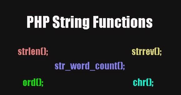 Php'de Metin Fonksiyonları 2 ve Uygulamaları