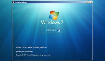 Windows 7 Kurulum – Format Simulatörü