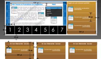 Grafik Animasyon 1.Dönem 2.Uygulama Sınav FireWorks Site Tasarımı
