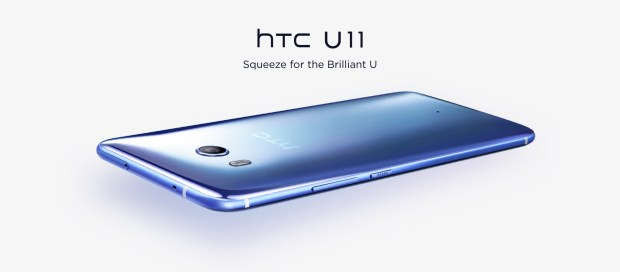 HTC U11 arkayüz
