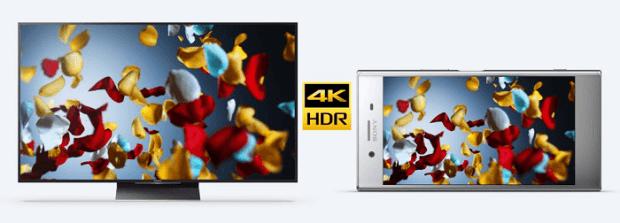4K_HDR_Screen_of_Sony_Xperia_XZ_premium