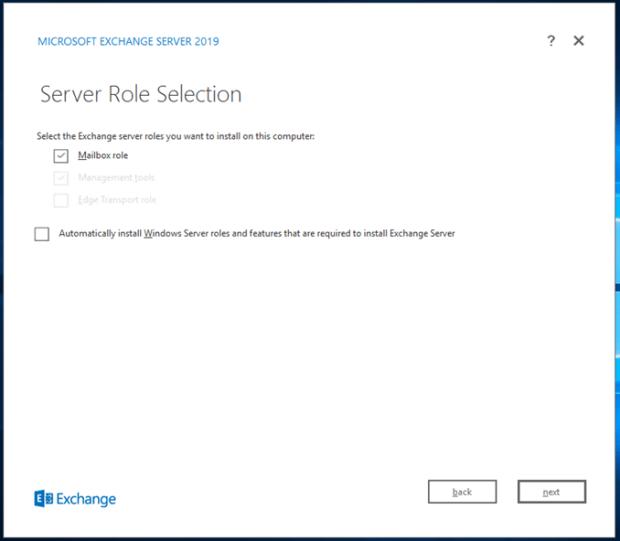 Exchange Server 2019 Kurulum