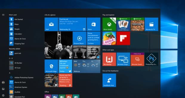 En popüler masaüstü işletim sistemi windows 10