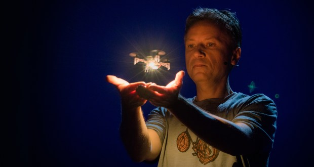 Raffaello D'Andrea speaks at TED2016 drone