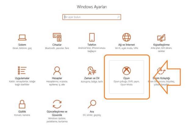 Windows 10 oyun modu özelliği nedir