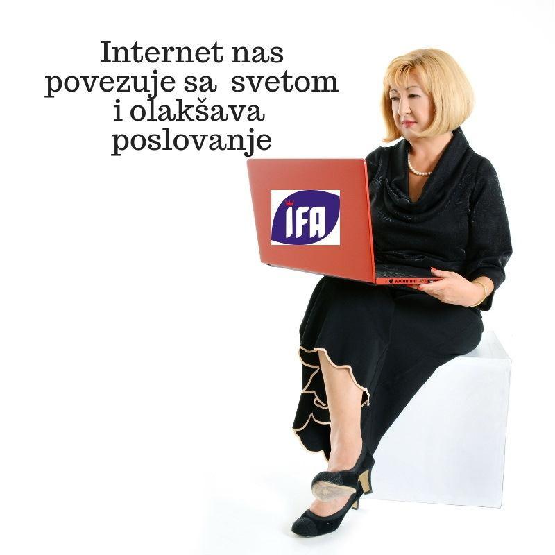 Internet nas povezuje sa svetom