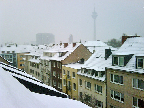 Winter in Düsseldorf