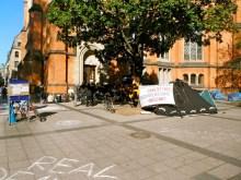 Occupy Duesseldorf - DaCampa entsteht...