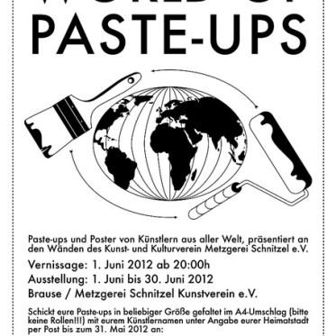 world of paste-ups