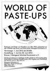 Paste-ups und Poster von Künstlern aus aller Welt (BRAUSE)