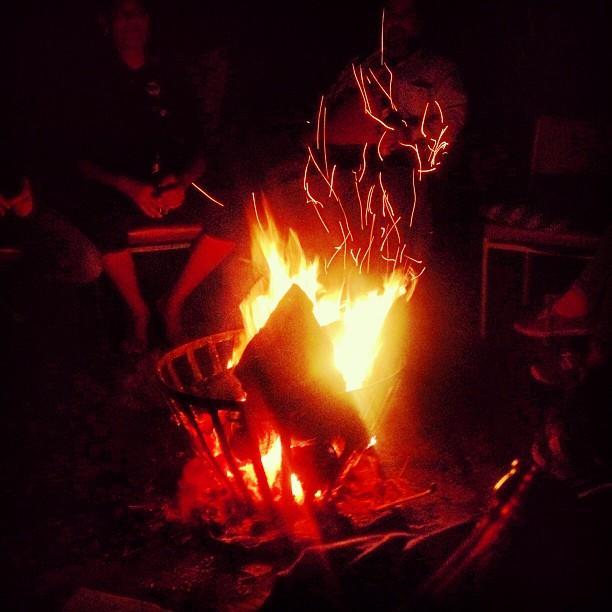 Ein Abend am Feuer – durch nichts zu ersetzen ;-)