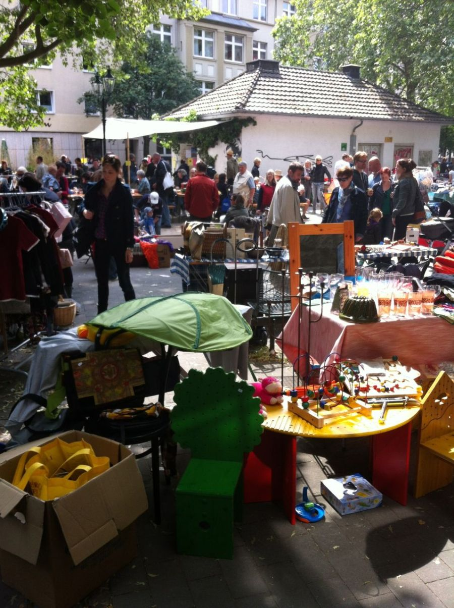 Platzvergabe – Flohmarkt Friedensplätzchen